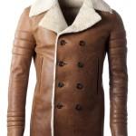 cappotto cuio di pecora