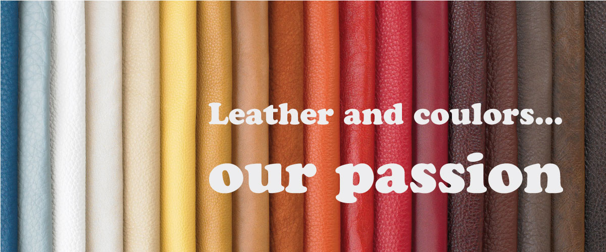 leather and coulors our passion