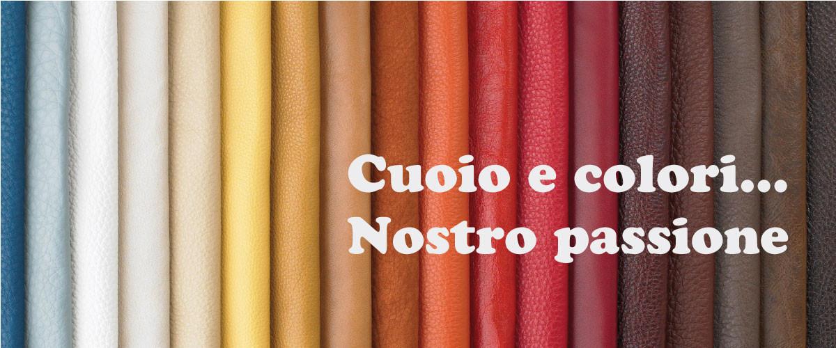 cuoio e colori nostro passione